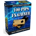 100 pips Forex Gainer Indicator with Bonus Fibonacci & Gann - Time